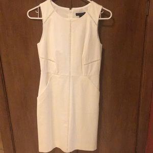Size 2P white J. Crew dress